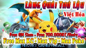 pokemon – Nơi Thoã Mãn Đam Mê Game