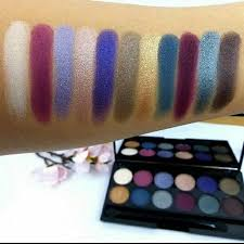 sleek makeup enchanted forest palette makeup swatches makeup sleek makeup and eyeshadow