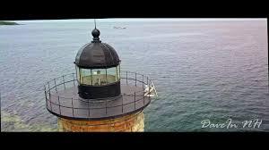 Whaleback Light Kittery Maine Mavic Pro Wood Island Life Saving Station And Whaleback Lighthouse Kittery Point Drone Flight