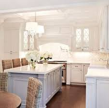 White Marble Kitchen With Grey Island House Home Pinterest