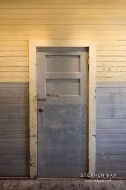 old door in the detention barracks angel island california