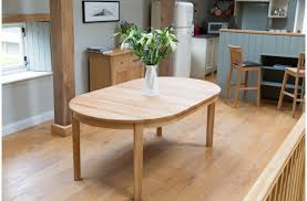 oval expandable dining table for small spaces