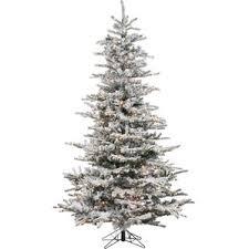 Shop Fantastic Craft 2ft Prelit Twig Slim Flocked Artificial Slim Flocked Christmas Trees Artificial