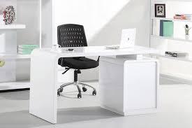 modern office desk white. s005 modern office desk with built in bookshelf white high gloss c