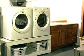 washer dryer pedestal sand diy dimensions stand plans ikea