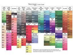 Spectrum Noir Marker Chart Spectrum Noir Colour Chart Spectrum Noir Markers Spectrum