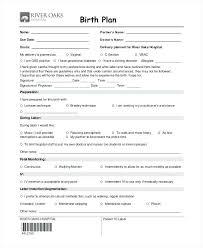 Bradley Birth Plan Template Printable Birth Plan Template Form Selo Yogawithjo Co Seogreat Info