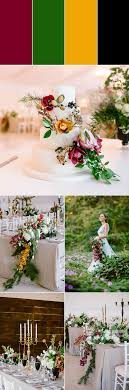 Purple and green wedding colors Lilac Burgundygreengoldblack Fourmies Burgundy Color Palette Ideas To Make You Rethink Your Wedding