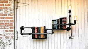 industrial pipe lighting. Cool Pipe Lighting Design. Clean But Industrial, Cook Books In This Lights And Industrial A