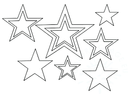 Template For A Star Template Star Template For American Flag Stars And Stripes
