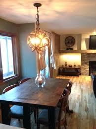 large orb chandelier metal world market wood