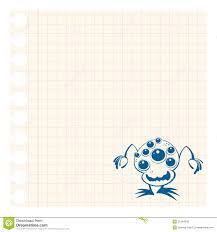 Alien Chart Alien On Chart Paper Stock Vector Illustration Of Alien