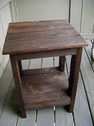 Coffee Tables Out Of Pallets How To Make A End Table Out Of Wood New Woodworking Style