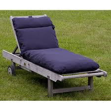 awesome chaise lounge cushions outdoor navy blue chaise lounge cushion 12216334
