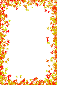 Small Picture Fall Foliage Border Free download photo frame of maple leaves in