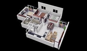 3 Bedroom Open Floor House Plans Creative Design
