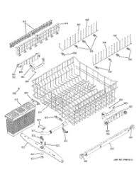 parts for ge pdwjss dishwasher com 03 upper rack assembly parts for ge dishwasher pdw7880j00ss from com