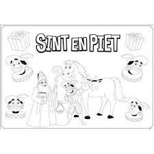 Kleurplaat Sint Piet Trendy 6 Vel Cadeaus Gadgets Kopen