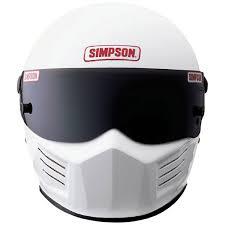Kartingwarehouse Com Simpson The Bandit Sa2015 Racing Helmet