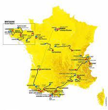 Die neue Strecke der Tour de France 2021 - Roadcycli...