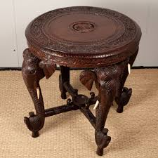 Indian Style Coffee Table Anglo Indian Rosewood Side Table World Bazaar Pinterest