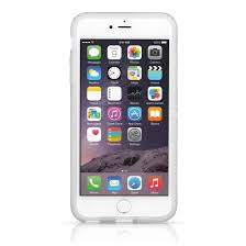 apple iphone 100. pelican adventurer case for apple iphone 6/6s - clear/white front iphone 100
