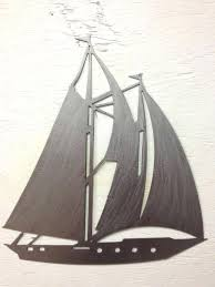 sailboat metal wall art sailboats designer sailing ocean beach nautical large  on yacht metal wall art with sailboat metal wall art sculpture sailing life in the know