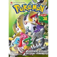 Truyện tranh Pokemon đặc biệt tập 38 bản tái bản 2020 - Pokemon Special -  NXB Kim Đồng