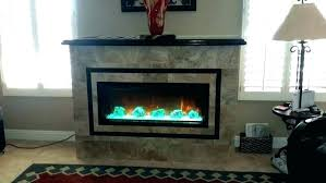 electric fireplace with glass crystals gas stone rocks home depot