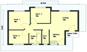 low cost house designs and floor plans low budget modern 3 bedroom house design how much