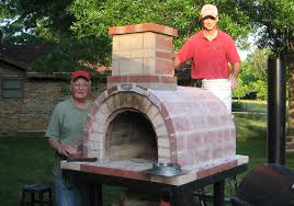 diy brick pizza oven plans do it your self