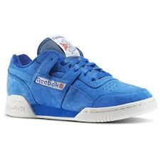 reebok vintage. reebok - men\u0027s workout plus vintage awesome blue/chalk/classic white bd3382 i