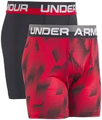 Amazon Com Under Armour Kids Boys 2 Pack Sandstorm Boxer