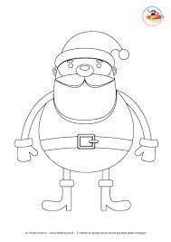 Disegni Da Colorare Per Natale Babbo Natale