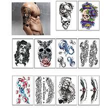 799 10 Tetovací Nálepky Ostatní Non Toxicmiminko Dítě Dámské Pánské Dospívající Flash Tattoo Dočasné Tetování
