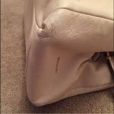 Coach Bags - COACH Phoebe Large Leather Shoulder Bag. Ivory
