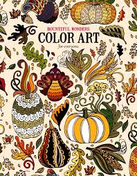 new art coloring book stress relief drawings premium paper gifts relaxing