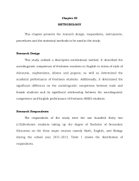 thesis writing research methodology