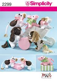 Stuffed Animal Patterns Simplicity