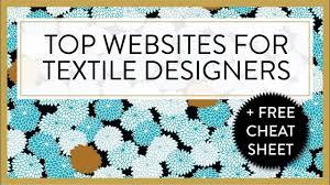 Top Textile Designers Top Websites For Textile Designers P In 2020 Textile
