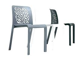 Impressive Plastic Modern Chairs Outdoor Dining