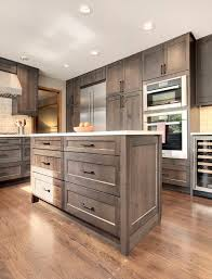 Thoughtful, Handsome Kitchen Remodel, Newly Reconfigured With Chef Friendly  Working Spaces. A Current, Classic Palette Of Alder Gray Stained Cabinetry,  ...