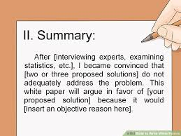 how to write white papers steps pictures wikihow image titled write white papers step 6