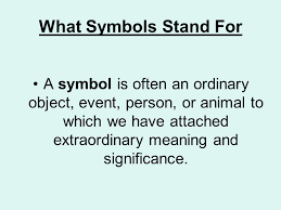 symbolism in literature ppt  what symbols stand for