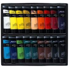 Master S Touch Acrylic Paint Color Chart Master U S Touch Acrylic Paint Color Chart