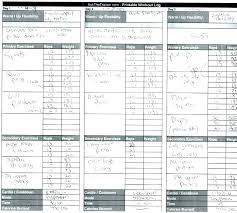Training Diary Template Training Journal Template Running