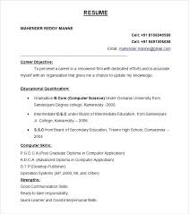Sample Of A Good Resume Format Most Effective Resume Format Best Of