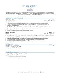 Typical Resume Format Chronological Example Powerful Besides Sample