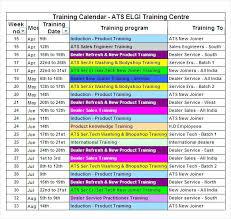 Schedule Sample Excel – Iinan.co