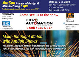 Amcon Advanced Design Manufacturing Show Cleveland Fiero Automation Automationfiero Twitter